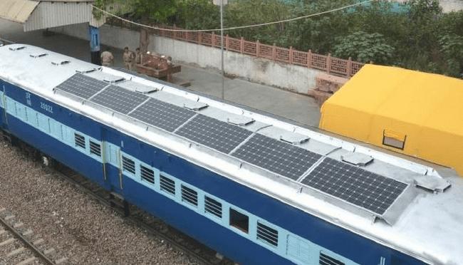 Indian Railways suministrará 1.000 MW de energía solar, 200 MW de energía eólica para 2021-22