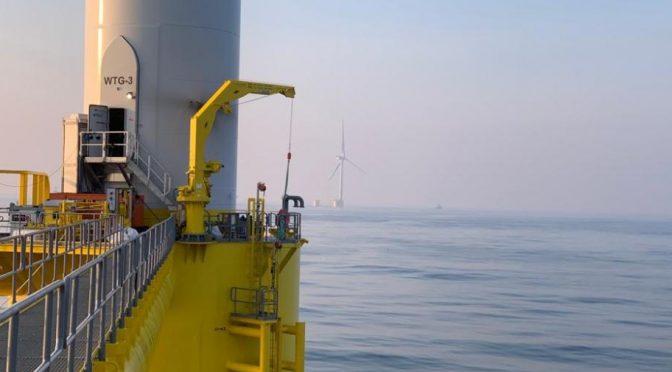 Portugal conecta una turbina eólica flotante de 8 MW