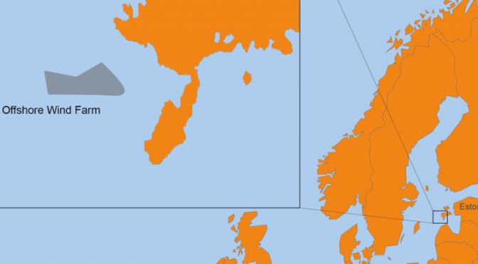 Van Oord se une al proyecto de energía eólica marina de Estonia
