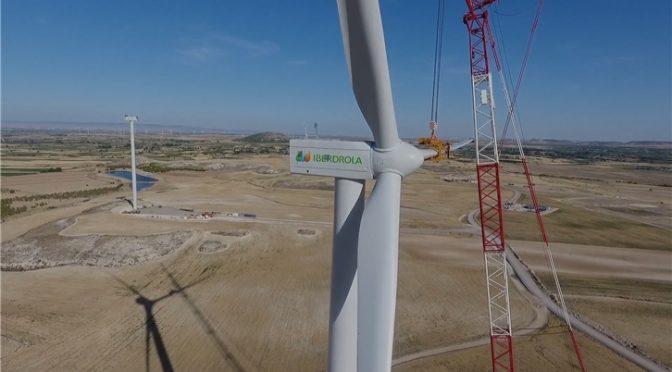 Iberdrola pone en marcha el parque eólico El Pradillo