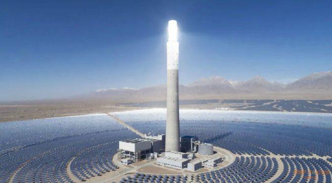 La termosolar de 50 MW Supcon Delingha de China alcanzó un alto rendimiento récord en febrero de 2020