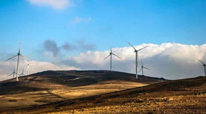 Jordania entre los países líderes en la región MENA para la producción de energía eólica