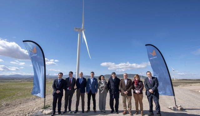 Eólica en Aragón, Naturgy inaugura el parque eólico Fréscano