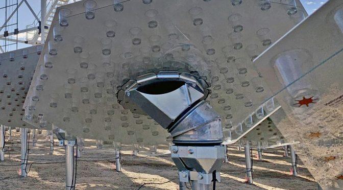 Reducir los costes de la termosolar con helióstatos autoalineados