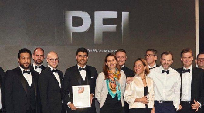 Eólica en Arabia Suadí, parque eólico Saudi- Dumat Al-Jandal gana premio PFI