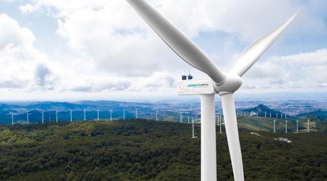 Siemens Gamesa suministra 25 aerogeneradores a la energía eólica de Vietnam