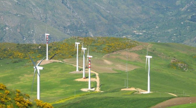 EGP consigue una adjudicación de 80 MW de energía eólica en Italia