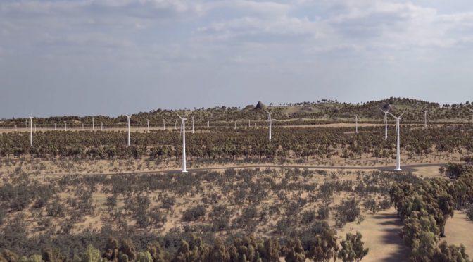 Eólica en Australia, complejo eólico de Acciona de 1.026 MW