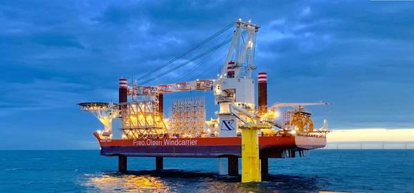 Fred Olsen Windcarrier instalará la turbina eólica CFXD