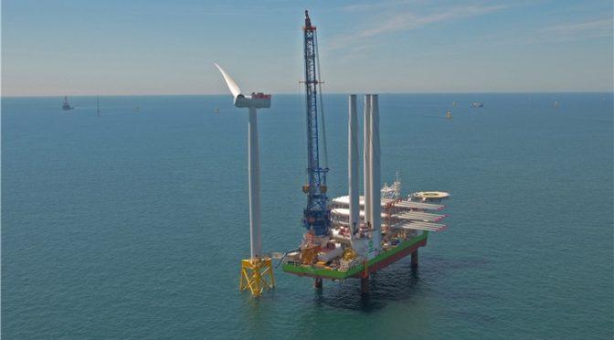 Iberdrola participará en un proyecto de energía eólica marina de 6.500 millones de libras en una subasta británica
