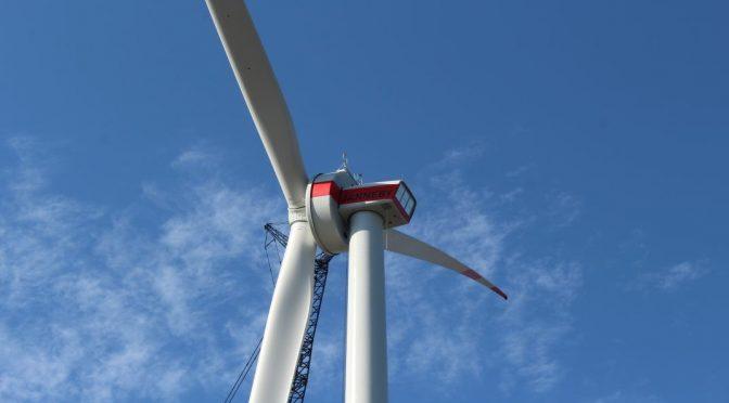La eólica ENERCON instala el prototipo de aerogenerador E-138 EP3 E2