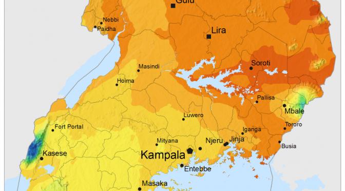 Energía solar y eólica en Uganda