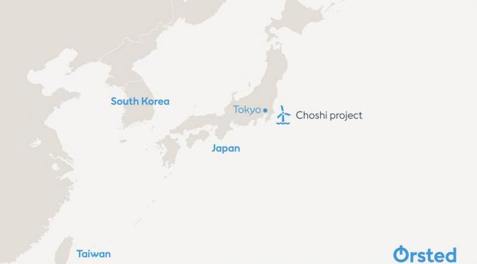 TEPCO y Ørsted acuerdan establecer una empresa conjunta para la energía eólica marina en Choshi