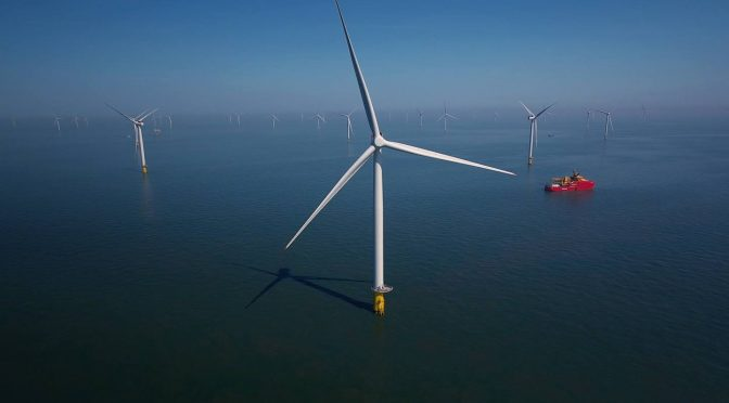 8 países poseen 15,6 TW de potencial de energía eólica marina