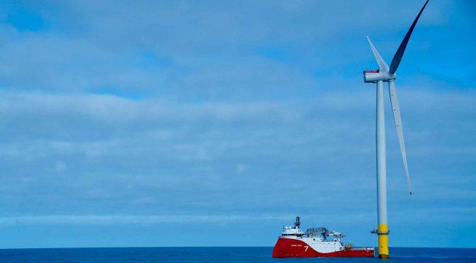 Vattenfall y Subsea 7 firman un contrato para la eólica Hollandse Kust Zuid