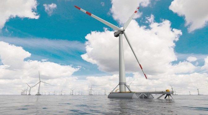 CTC trabaja para reducir un 15% el coste de los aerogeneradores de la energía eólica flotante