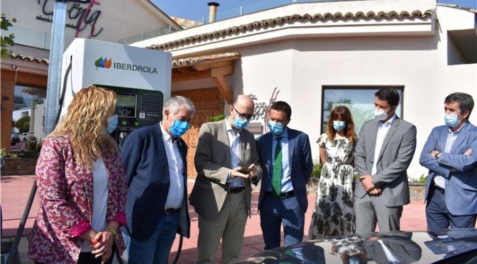Iberdrola pone en marcha dos puntos de recarga rápida para vehículos eléctricos en Tarancón