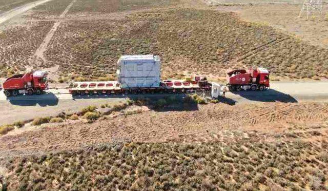 Eólica en Sudáfrica, parque eólico recibe transformador de fabricación local