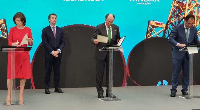Iberdrola adjudica a Navantia-Windar el mayor contrato de eólica marina de su historia por valor de 350 millones de euros
