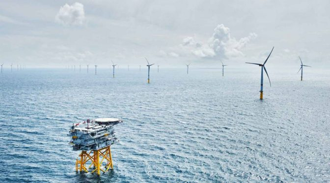 Eólica en Reino Unido aprueban parque eólico de 1,8 GW Norfolk Vanguard de Vattenfall