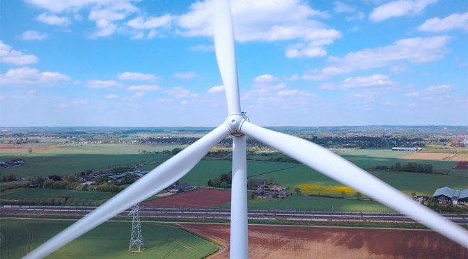 Récord de generación eólica en enero