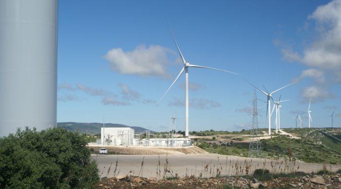 Eólica en Teruel, parque eólico de Endesa de 14,4 MW