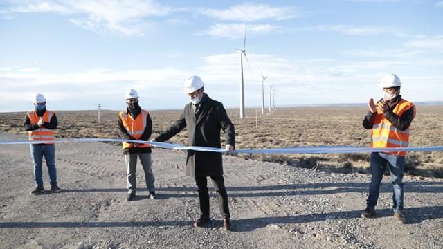 Energía eólica en Neuquén, primer parque eólico