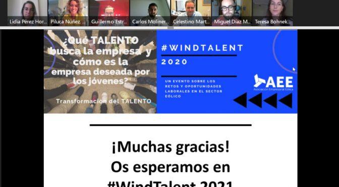 #WindTalent analiza los retos en la atracción de talento y el crecimiento del empleo en la energía eólica