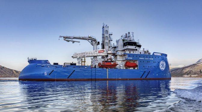 El nuevo buque de GE está transformando el mantenimiento de la energía eólica marina