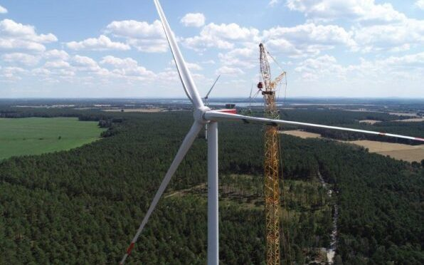 Energía eólica en Alemania, aerogeneradores Nordex para parque eólico de 300 MW