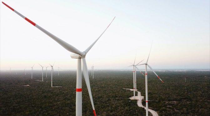 Eólica en México, 36 aerogeneradores de Envion para el parque eólico Península