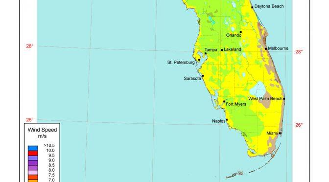 Florida podría ser el próximo estado en aprovechar la energía eólica