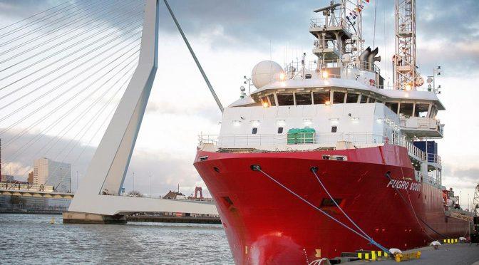 Fugro inicia investigaciones para Vattenfall en dos centrales de energía eólica marina del Reino Unido
