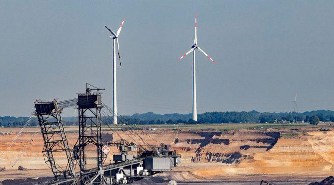 La energía eólica es clave para las regiones de carbón en transición