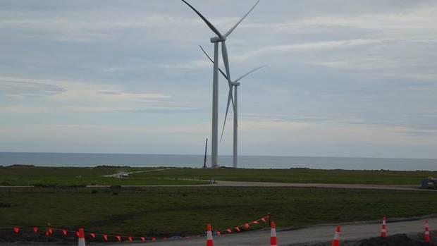 Energía eólica Nueva Zelanda, los aerogeneradores ya están en el parque eólico de Waipipi
