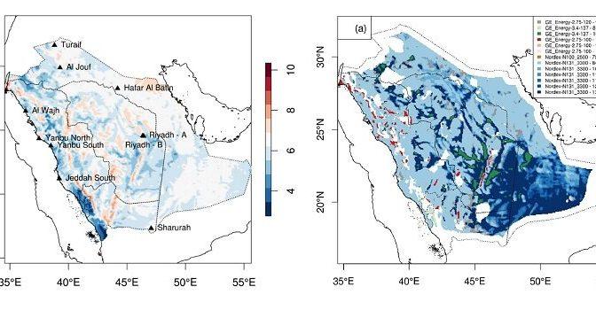 El progreso del parque eólico de Arabia Saudí presagia una nueva era en energía eólica