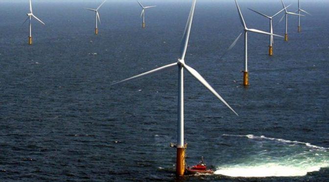 Francia elige zona frente a la costa de Normandía para un 1GW de energía eólica