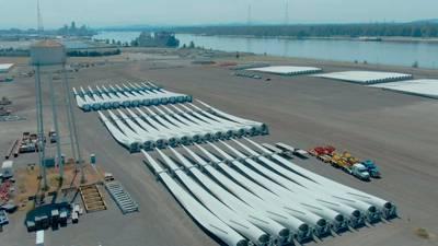Vancouver recibe récord de aerogeneradores de la eólica Goldwind