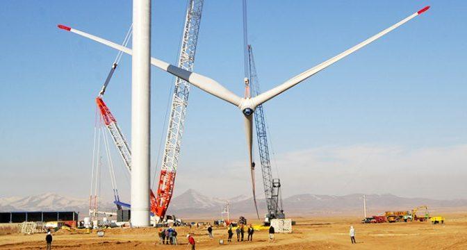 Energía eólica en Irán, parque eólico en Sistan-Baluchestan