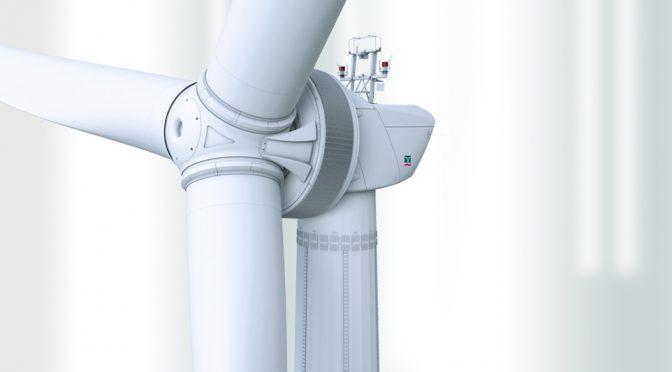 ENERCON instala el prototipo de energía eólica E-160 EP5