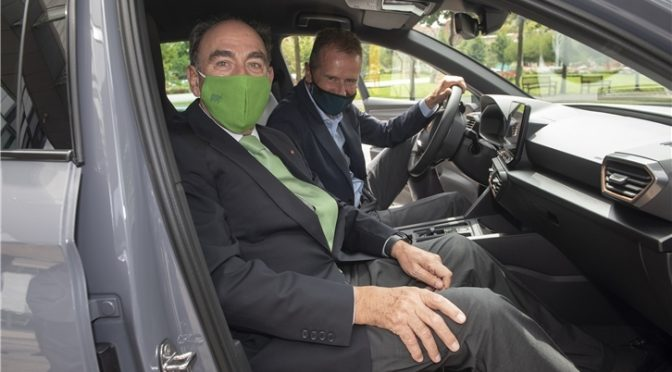 Iberdrola, SEAT y Volkswagen Group España Distribución se alían para impulsar la movilidad eléctrica en España