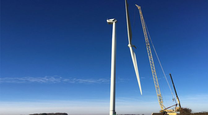 Hacia una norma europea para el desmantelamiento de la turbina eólica
