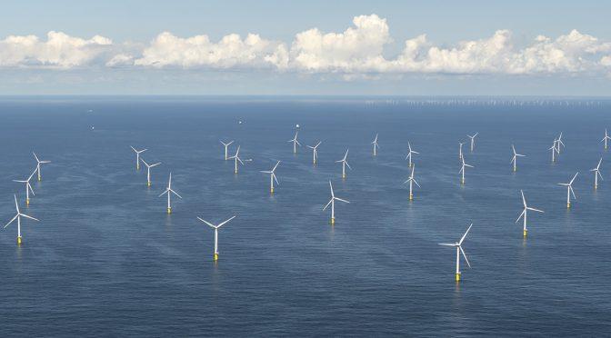 GE emplea superordenador para estudar la energia eólica offshore
