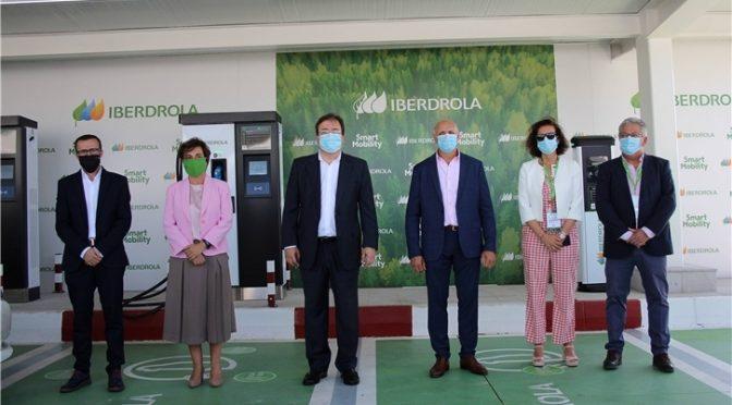 Iberdrola abre su corredor de recarga eléctrica superrápida que une el centro y sur de la península
