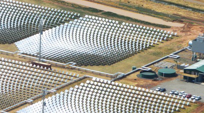 La primera gran central termosolar australiana depende de Glencore