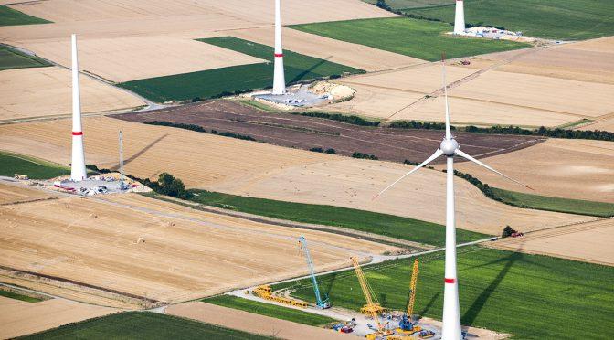 La energía eólica generó el 17% de la electricidad de Europa