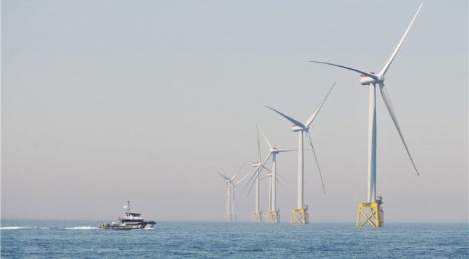 Iberdrola pone en marcha su mayor eólica, East Anglia ONE, en aguas del Reino Unido