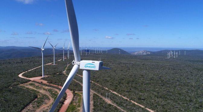 Central Eólica de ENGIE en Bahía se encuentra entre los diez parques más eficientes de Brasil