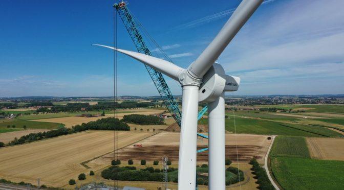 Enercon instala la primera turbina eólica E-115 EP3 E3