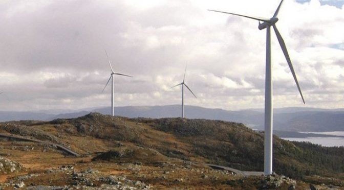 Fosen, la central de energía eólica terrestre más grande de Europa